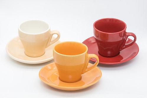 ספל לקפה צבעוני חלק