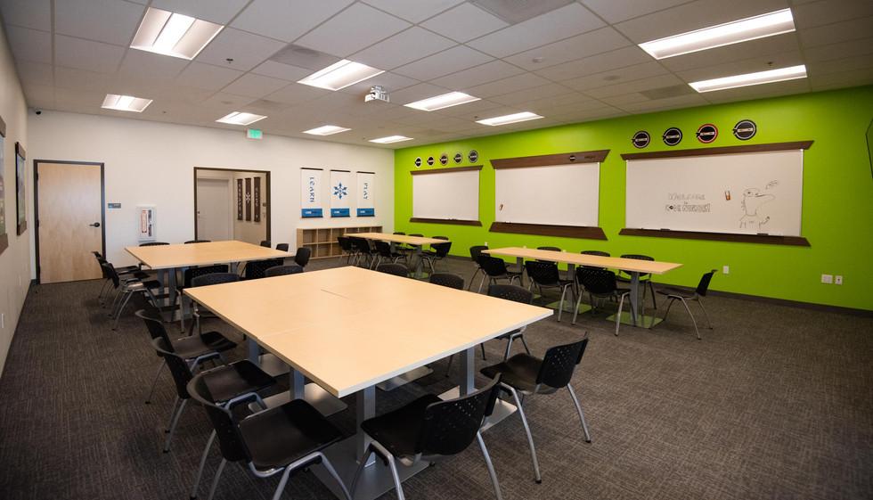 Code Ninjas Tustin Orange County classroom