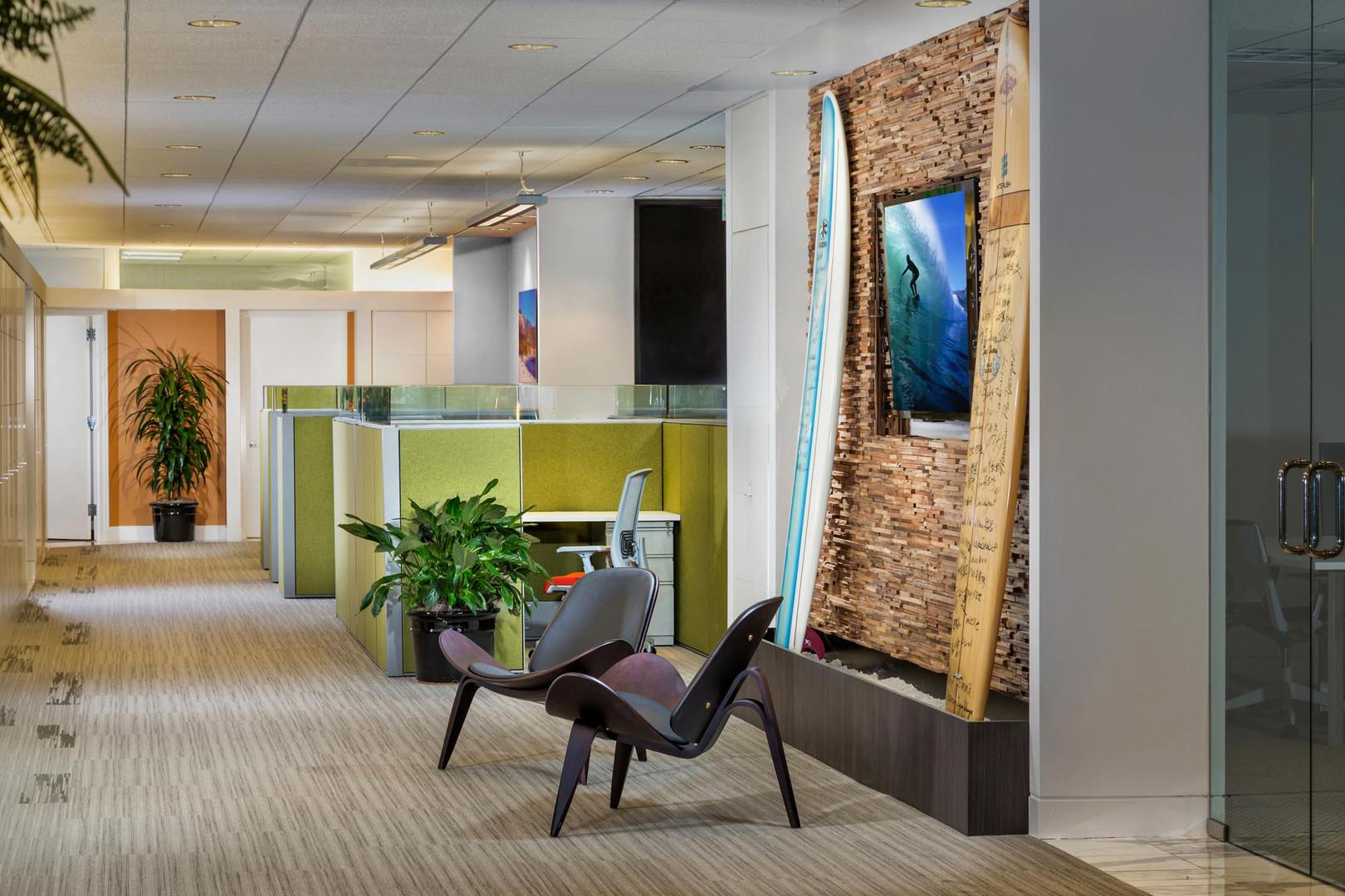 Interush Irvine Orange County hallway