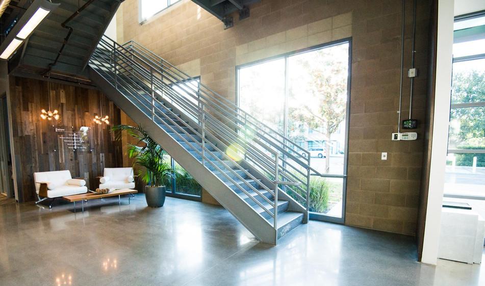 Casco Irvine Orange County stairs