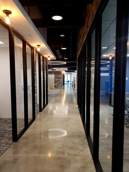 IHI Power Services hallway