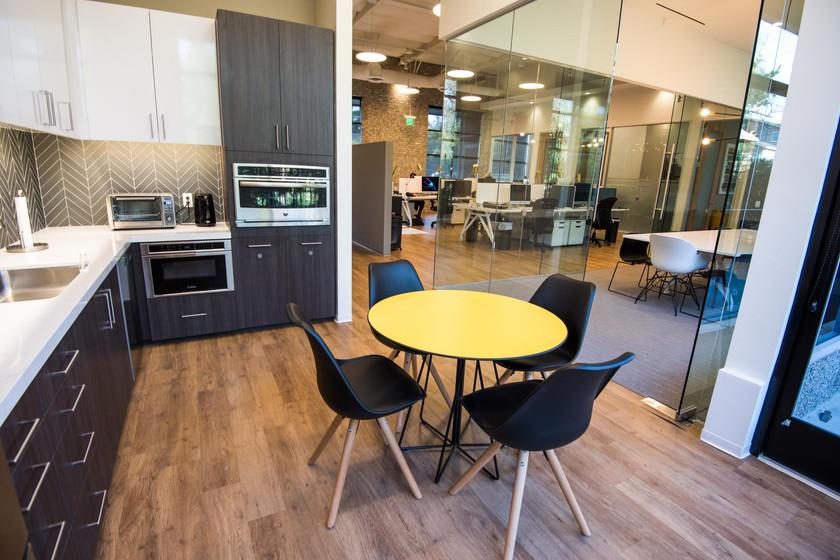 Aperion Newport Orange County office kitchen
