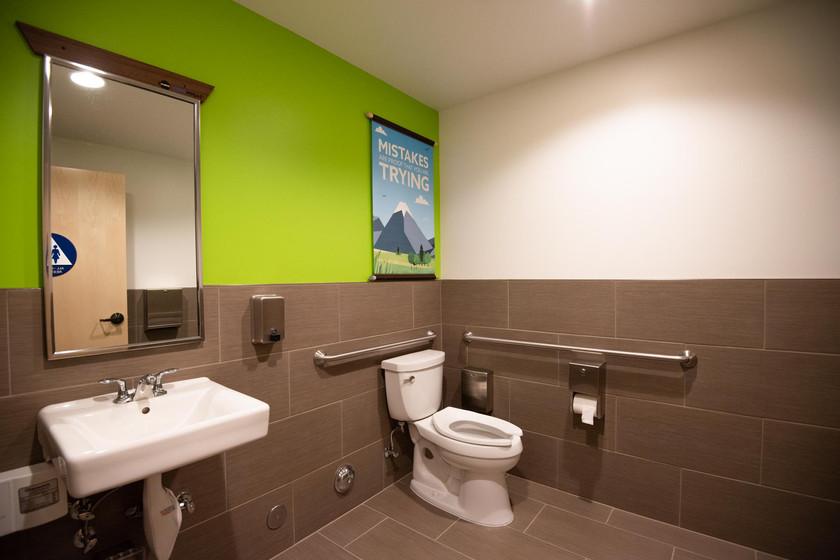 Code Ninjas Tustin Orange County bathroom