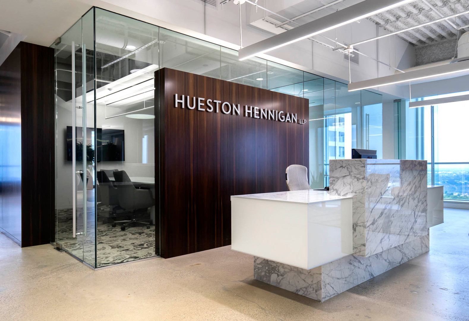 Hueston Hennigan Los Angeles lobby