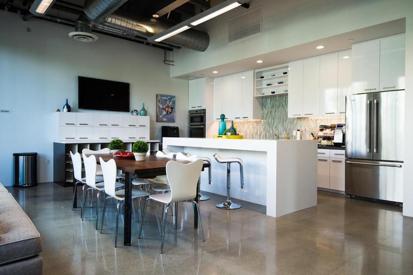 Casco Irvine Orange County breakroom