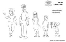 Family design by Golden Street Anim