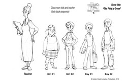 Students and teacher by GSAP