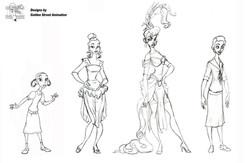 Jazz characters (female)