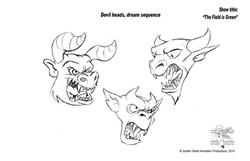 Demon Heads by Golden Street Anim.