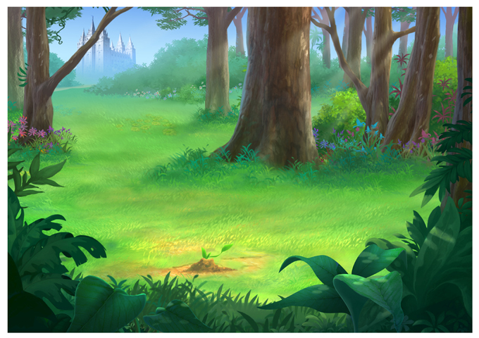 Golden Street Animation | Forest