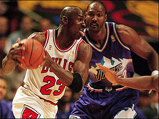Michael Jordan - A true Leader