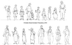 Show line up by Golden Street Anim.