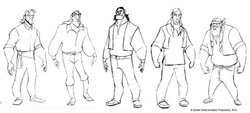 Indian Character variation by GSAP