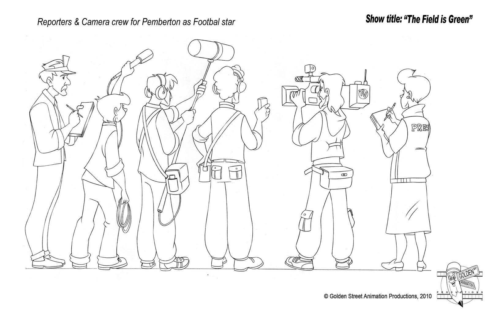 Press and Camera Crew