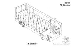Bus design (interior) by GSAP