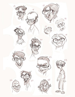 Face variations by GSAP