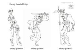 Guards by Golden Street Anim.
