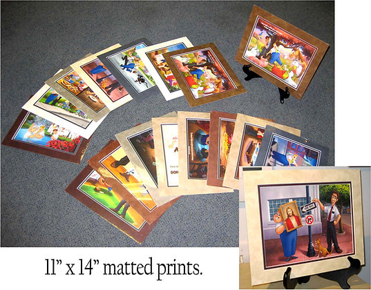 11 x 14 Matted Prints