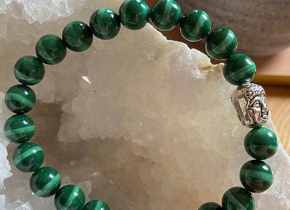 Bracelet Malachite Confiance