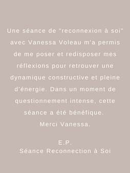 Reconnection à Soi
