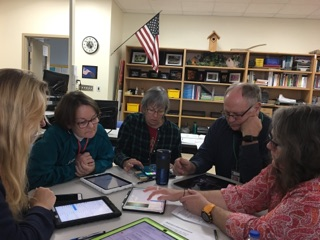 Teachers learn Low Vision Tools