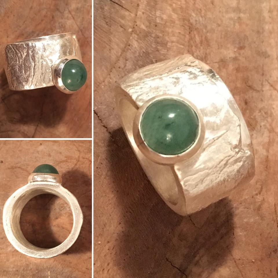 Ring...... Einzelstück, Stein Aventurin