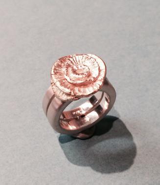 Kundenwunsch... aus zwei Ohrsteckern wurde ein Ring und ein Anhänger....