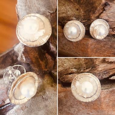 Ohrstecker mit Perlen...