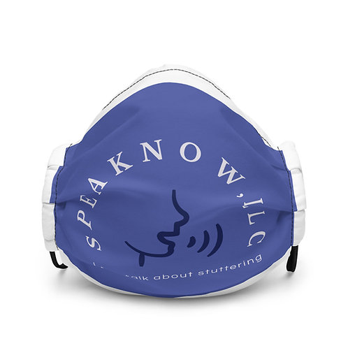 Official SpeakNow premium face mask