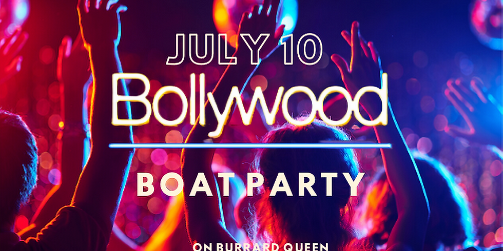 Bollywood Bling Boat Party