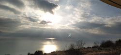 Wolken-Sonnenspiel