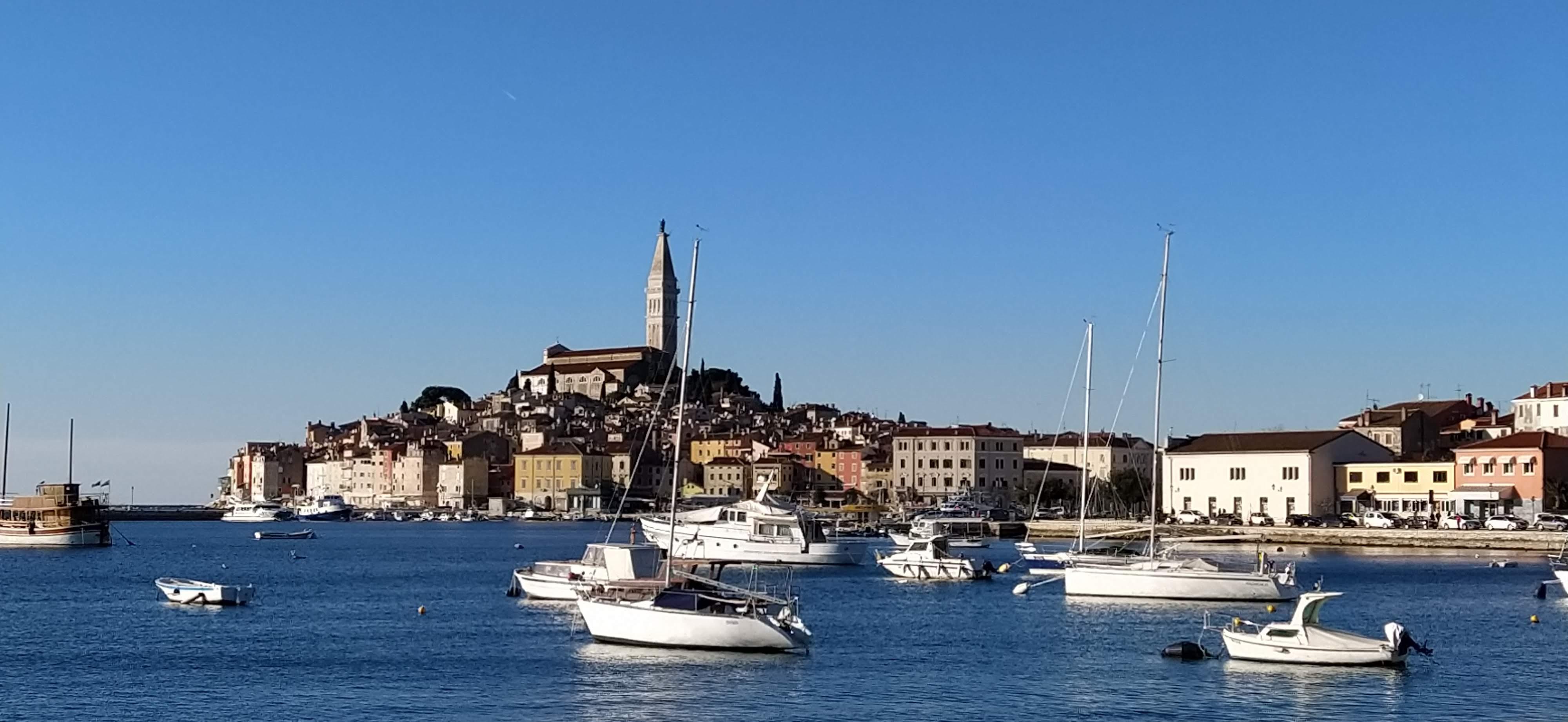 Rovinj eines der schönsten Städte Istriens