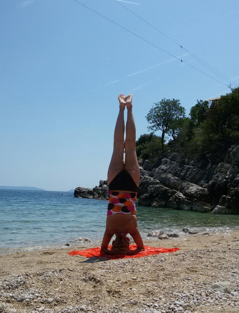 Yoga-Kopfstand