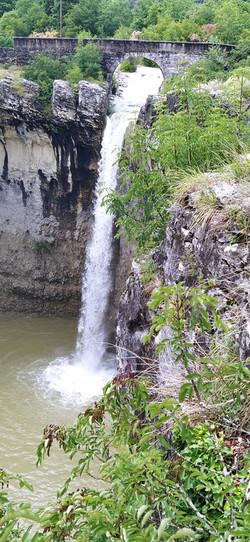 Wasserfall Sopot bei Pican