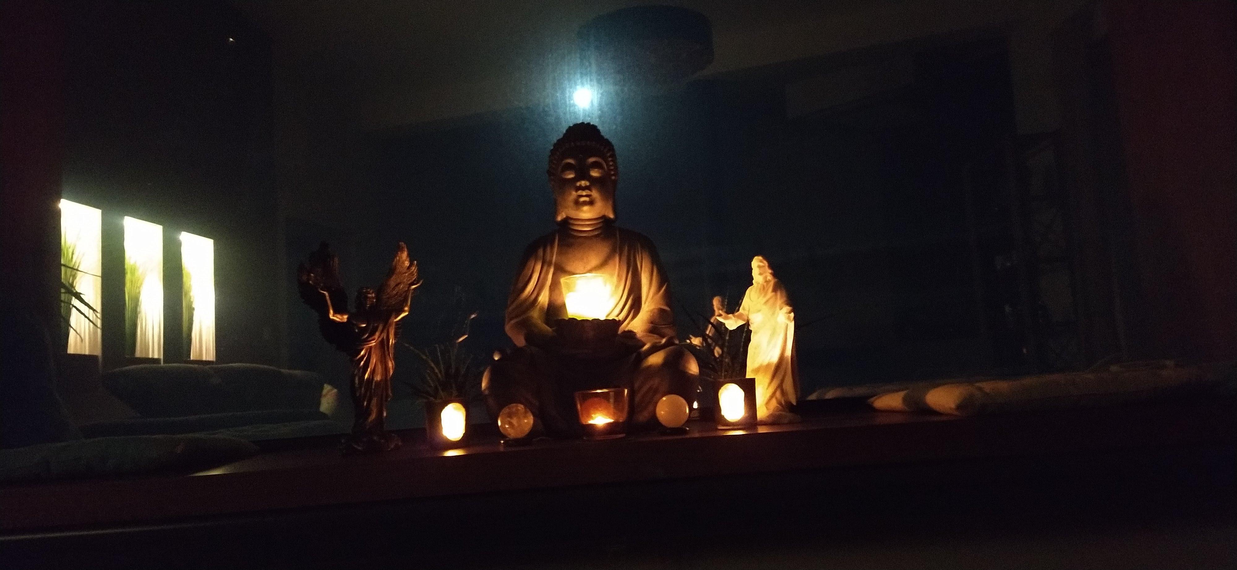Vollmondmeditationsaltar