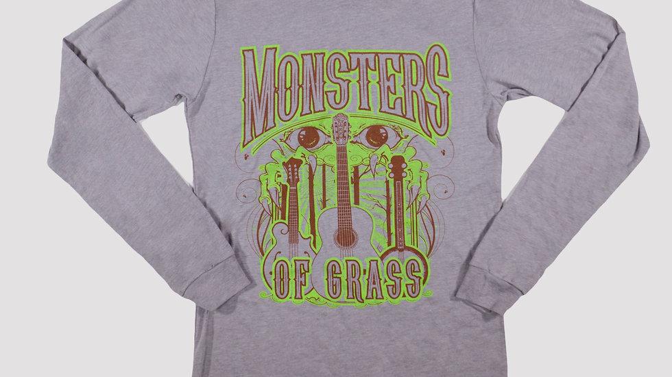 Monster and Guitars Long Sleeve T-Shirt