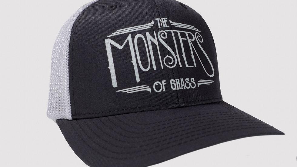 Grey and White Trucker Hat