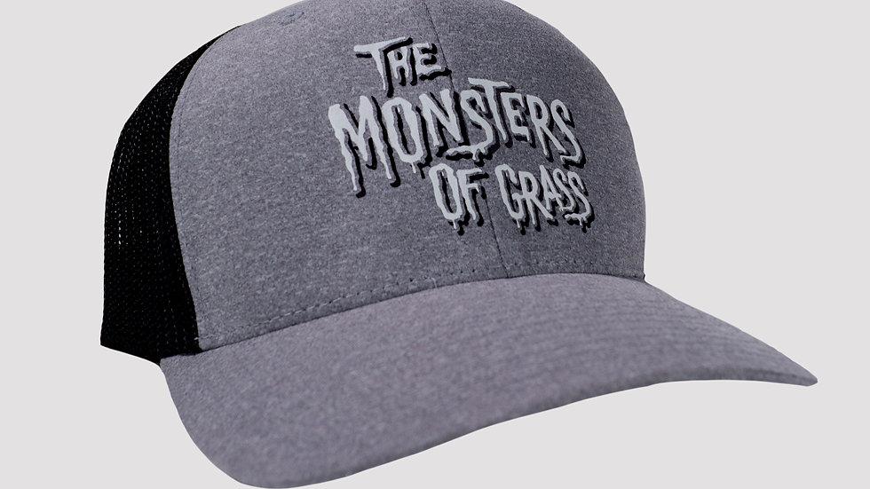 Black and Grey Trucker Hat