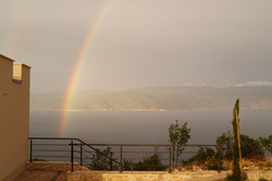 Regenbogen vor Cres