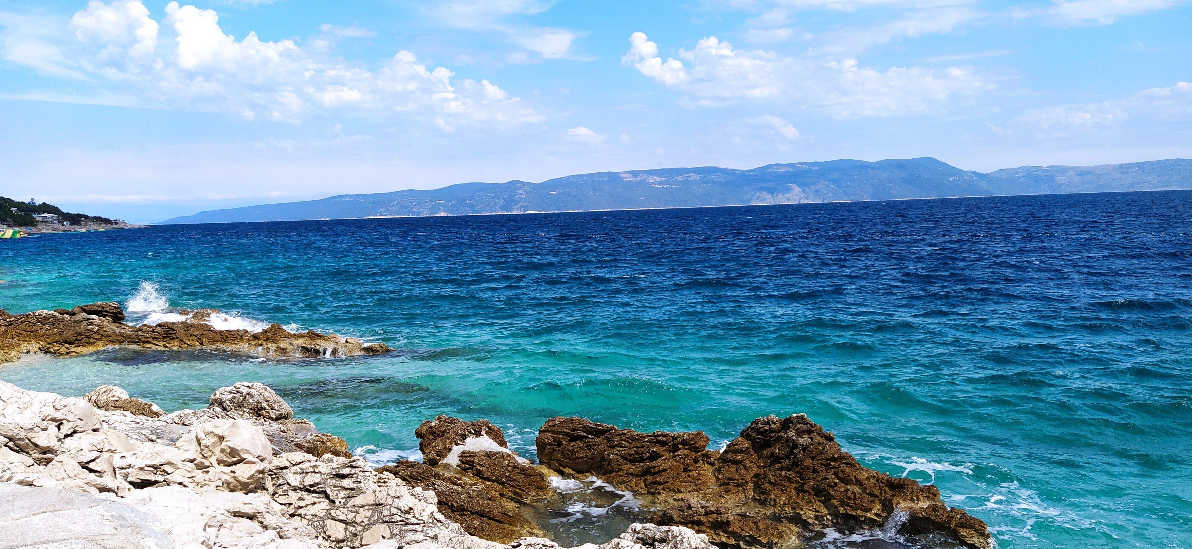 tiefblaues Meer - ein Traum