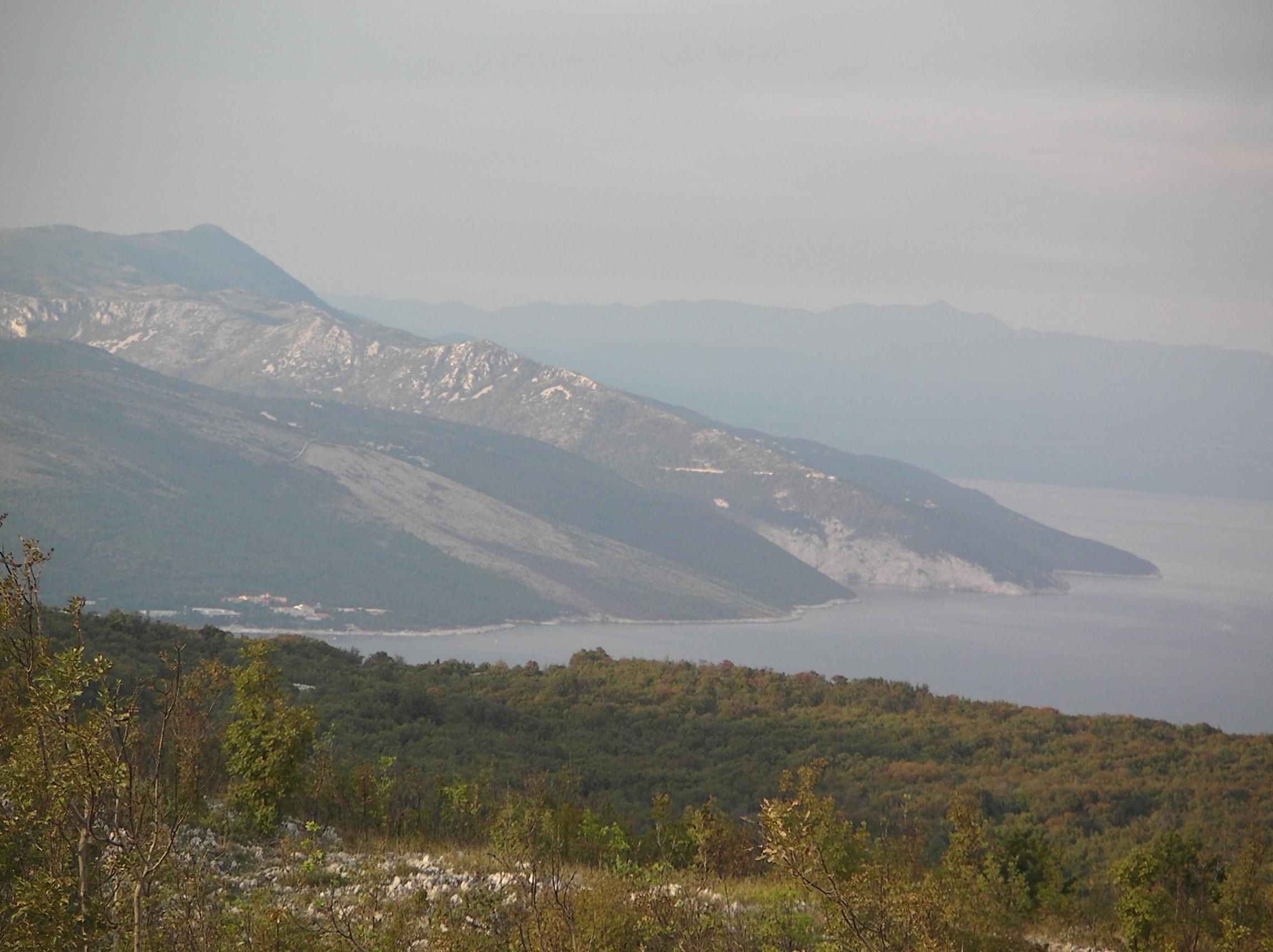 Blick von Skitaca Richtung Rabac