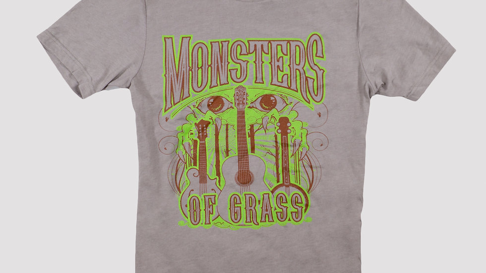 Monster and Guitars Full Color T-Shirt