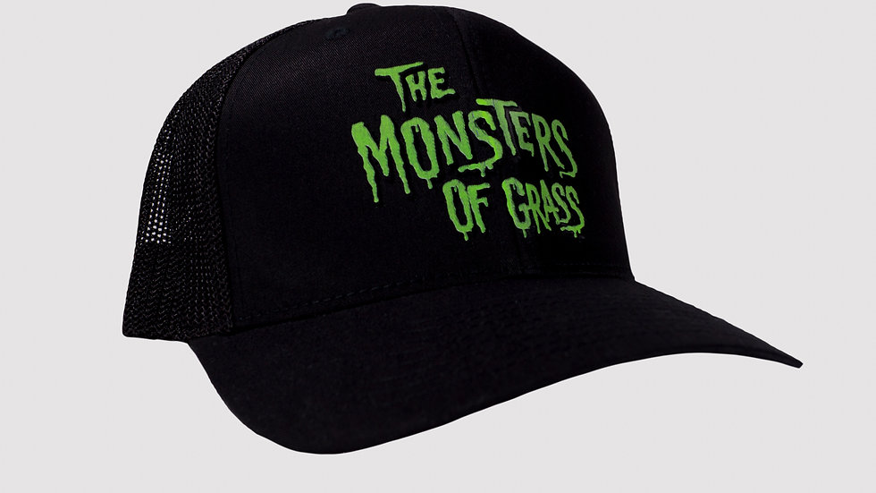 Black and Full Color Trucker Hat