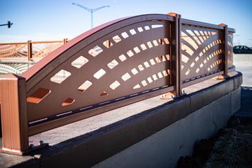 Painted Steel Decorative Guardrail