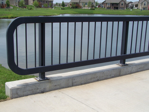 Painted Steel Handrail