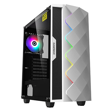 GameMax White Diamond Mid Tower