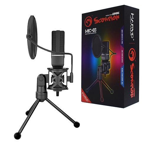 Marvo Scorpion MIC-03 Streaming Microphone