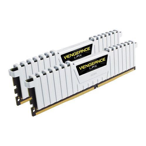 Corsair Vengeance LPX 16GB Kit (2 x 8GB), DDR4, 3000MHz White