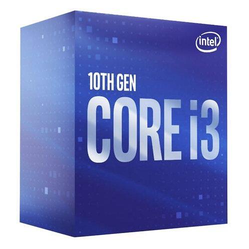 Intel Core I3-10300 CPU, 1200, 3.7 GHz (4.4 Turbo), Quad Core, 65W