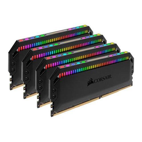 Corsair Dominator Platinum RGB 64GB Kit (4 x 16GB), DDR4, 3600MHz
